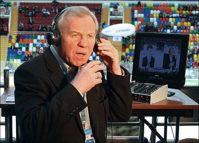 15 января 2011 года. Матч легендарных команд комментировал не менее легендарный Борис Майоров.