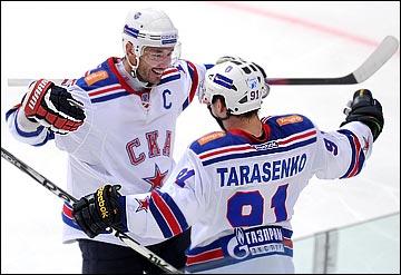 Сыграет ли Владимир Тарасенко в одном звене с Ильёй Ковальчуком?