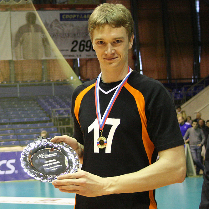 Максим Жигалов – лучший подающий