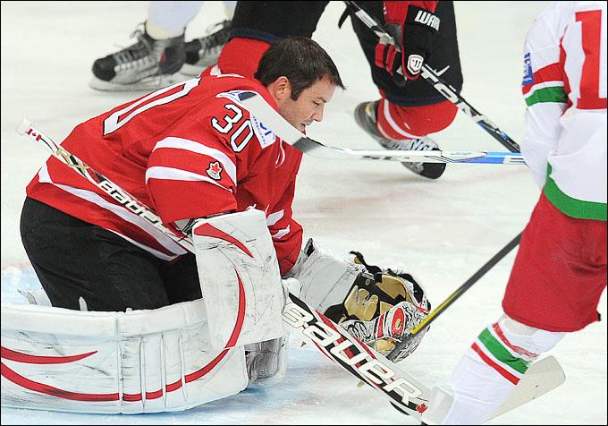 15 мая 2012 года. Хельсинки. Чемпионат мира. Групповой турнир. Канада — Белоруссия — 5:1