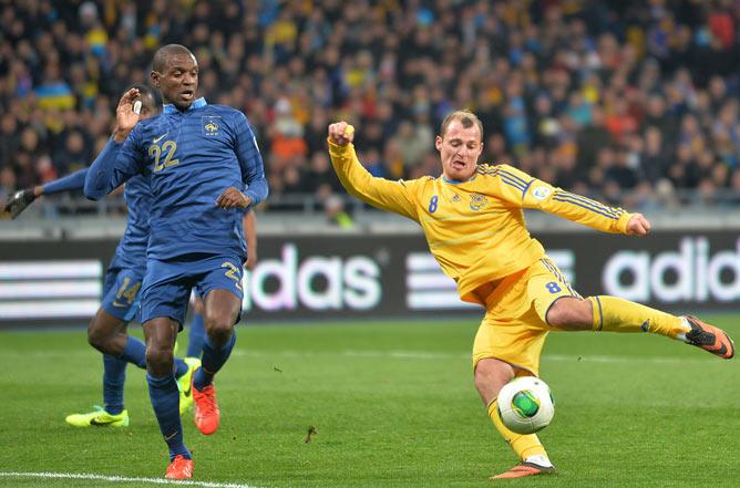 В Киеве Зозуля затерзал сборную Франции