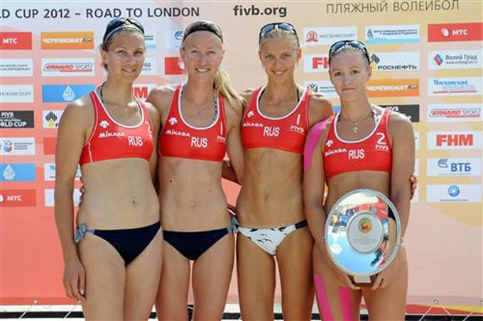Женская сборная России выиграла две путёвки на Олимпиаду