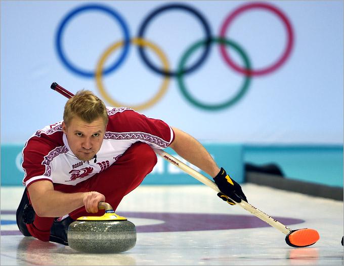 Российские керлингисты одержали вторую победу