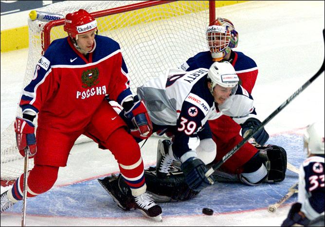 Хоккей. История чемпионатов мира. Часть 20. ЧМ-2000. Фото 02.