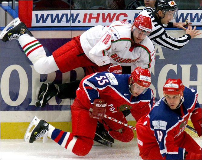 Хоккей. История чемпионатов мира. Часть 20. ЧМ-2000. Фото 04.