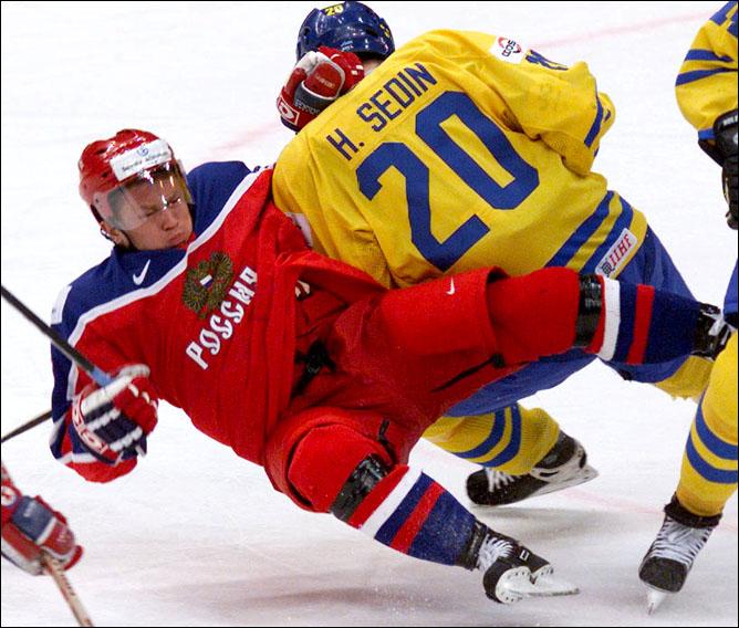 Хоккей. История чемпионатов мира. Часть 20. ЧМ-2000. Фото 06.