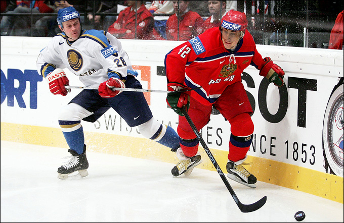 Андрей Пчеляков против Сергея Зиновьева на чемпионате мира 2005 года
