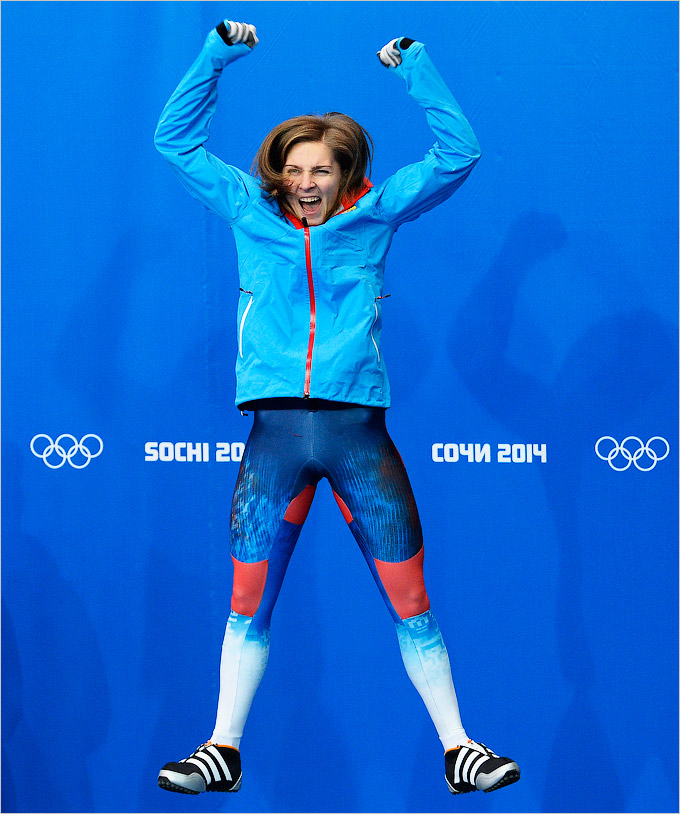 Елена Никитина завоевала бронзу в скелетоне