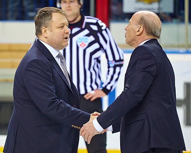Владимир Юрзинов и Майк Кинэн