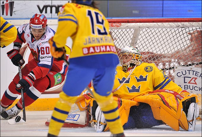 9 ноября 2012 года. Турку. Кубок Карьяла. Швеция — Россия — 2:3