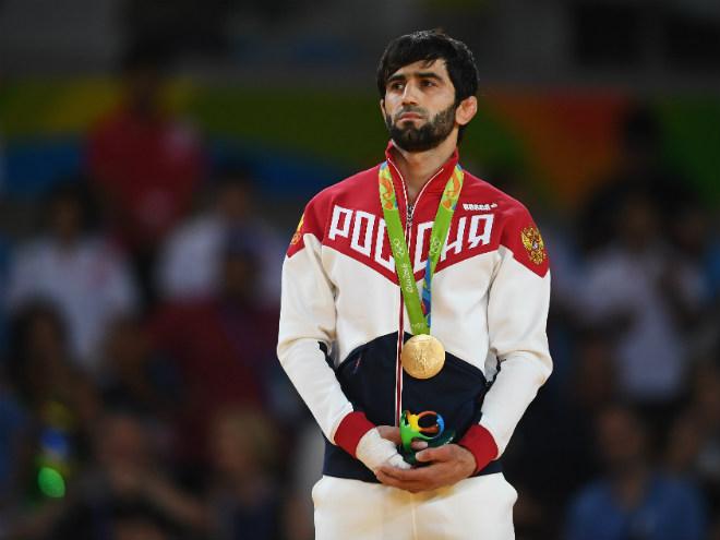 Беслан Мудранов выиграл олимпийское золото