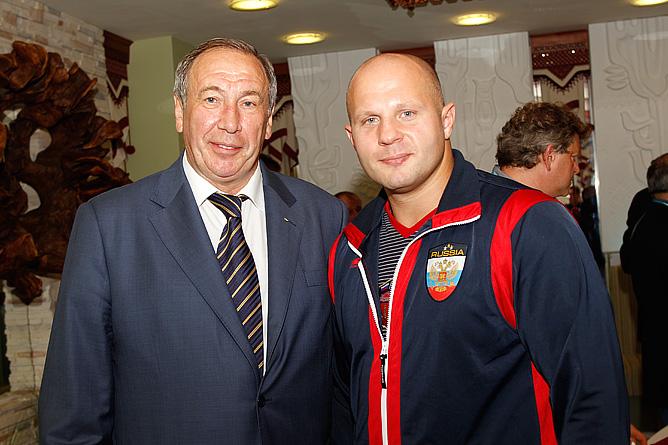 Шамиль Тарпищев и Фёдор Емельяненко