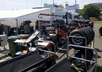 Сборы в паддоке GP2 и GP3