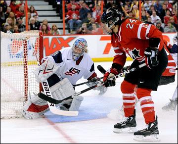 Олимпийские игры или Канада против США?
