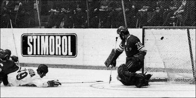 Топ-100 историй ИИХФ. История № 2. 1972. Хендерсон спасает Канаду. Фото 02.