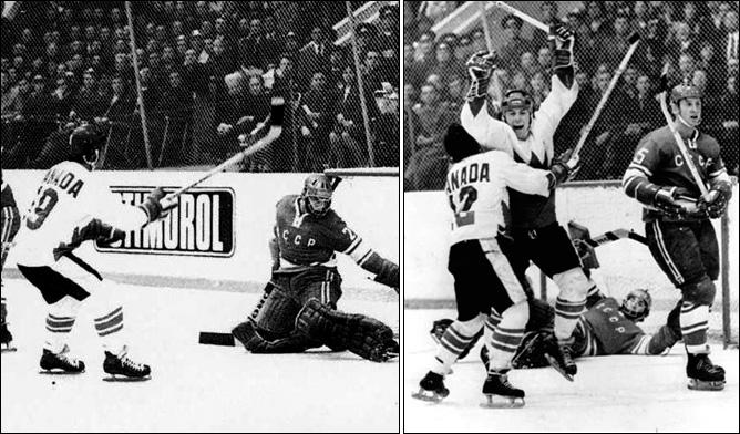Топ-100 историй ИИХФ. История № 2. 1972. Хендерсон спасает Канаду. Фото 03.