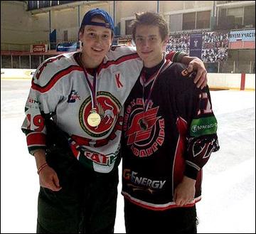 Радель Фазлеев (слева)