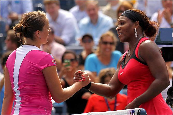 Анастасия в 1/4 финала проиграла Серене Уильямс