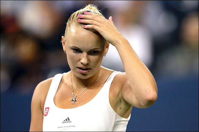 Каролина не справилась с Сереной в борьбе за выход в финал