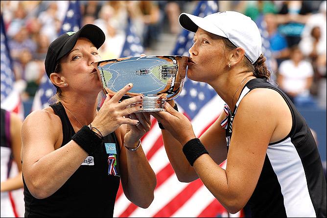 Хубер и Рэймонд победили в парном разряде US Open