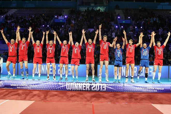 Триумф сборной России в Мировой лиге-2013