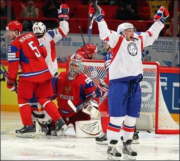 Норвежцы давно уже не чужие на хоккейном празднике жизни