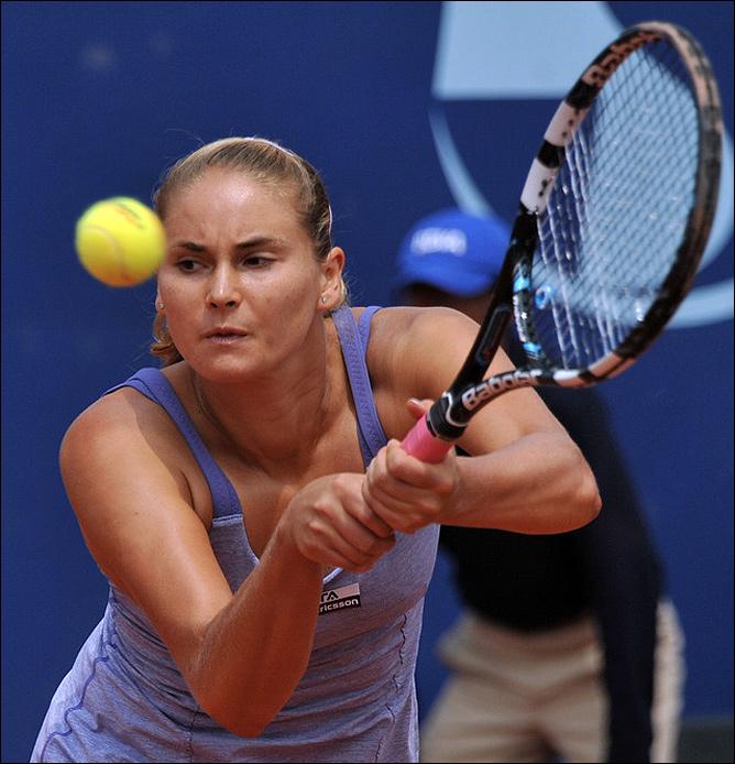 Лара Арруабаррена-Весино выиграла первый титул в карьере в колумбийской Боготе