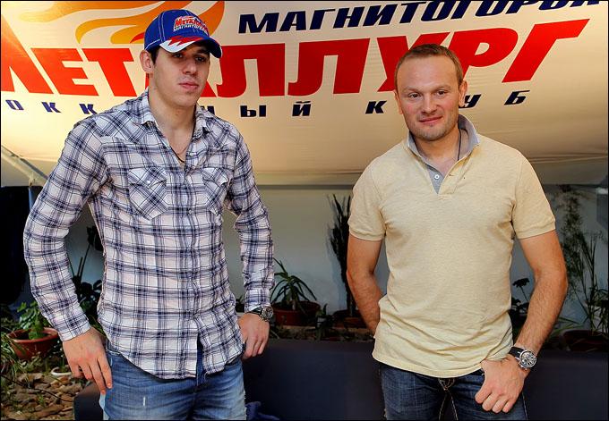 Евгений Малкин и Сергей Гончар и не выезжали из Магнитогорска