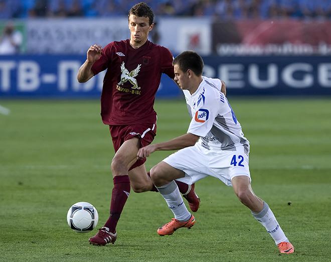 Роман Ерёменко — в форме «Рубина», в матче против ЦСКА