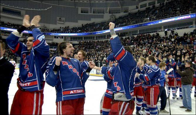 """Минская """"Юность"""" - обладатель Континентального Кубка 2011 года."""