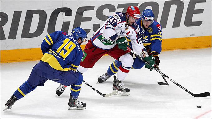 17 декабря 2011 года. Москва, Мегаспорт. Кубок Первого канала. Россия – Швеция – 2:4