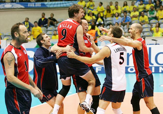 Победа сборной США в Мировой лиге-2008 предварила их триумф на ОИ