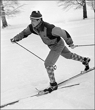 На дистанции олимпийский чемпион Павел Колчин