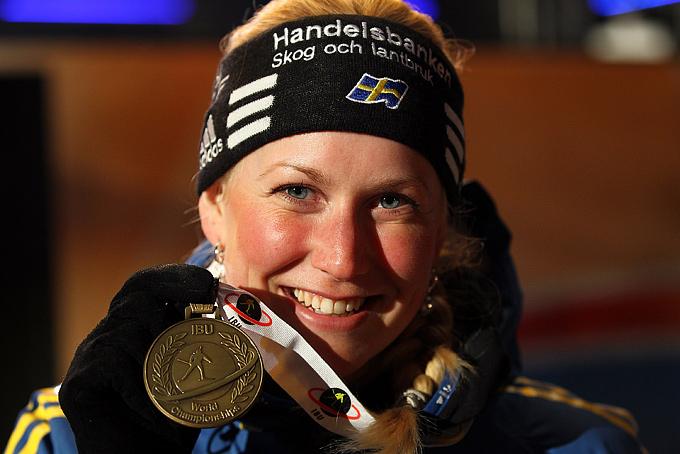 Бронзовая медаль чемпионата мира в индивидуальной гонке стала последней в карьере Хелены Экхольм