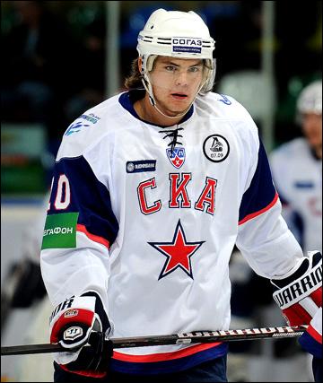 Виктор Тихонов в СКА