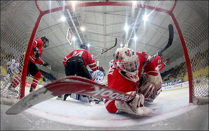 14 апреля 2012 года. Бржецлав. Юниорский чемпионат мира. Канада — Финляндия — 2:4