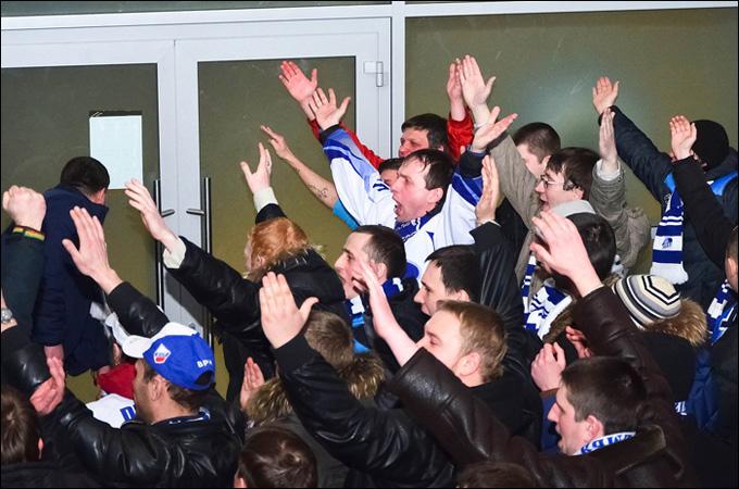 Воронежские болельщики едут в Липецк