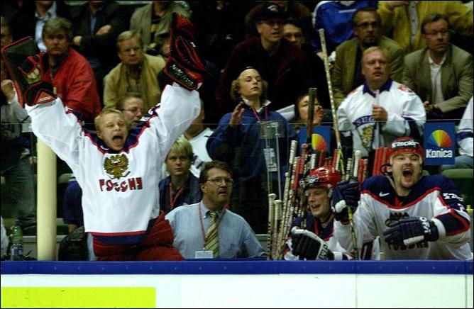 Хоккей. История чемпионатов мира. Часть 22. ЧМ-2002. Фото 06.