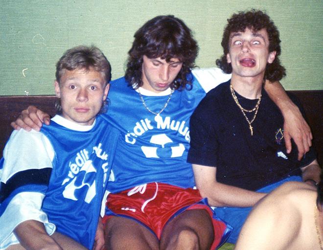 Валерий Карпин, Александр Мостовой и Игорь Шалимов