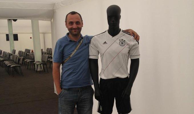 Николай Петросян в лагере сборной Германии