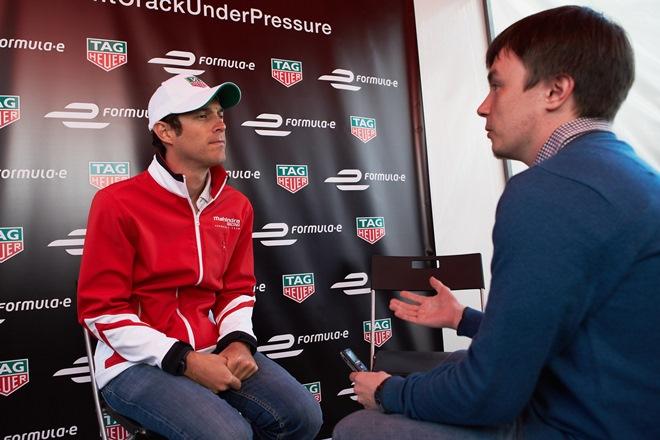 Бруно Сенна беседует с корреспондентом «Чемпионата»