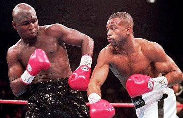 18 ноября 1994 года. Соперник – Джеймс Тони. Титул IBF во втором среднем весе.