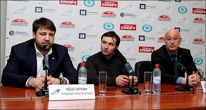 """Атланты"" против ХК МВД"