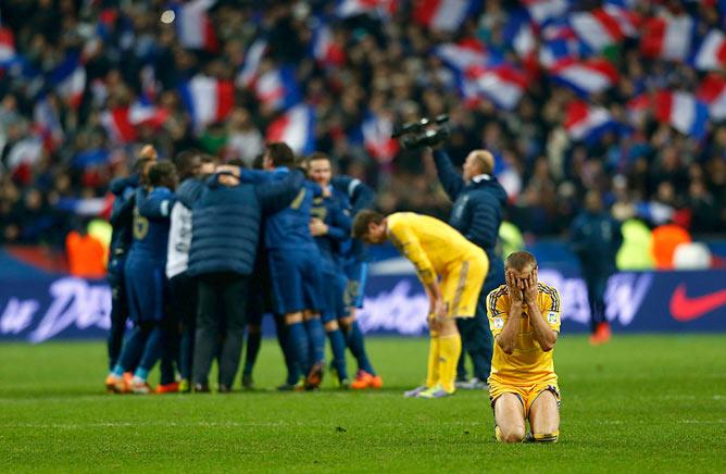 В Париже рухнули надежды украинцев на ЧМ в Бразилии