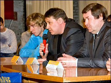 """Исполнительный директор ХК """"Дизель"""" Дмитрий Корягин"""