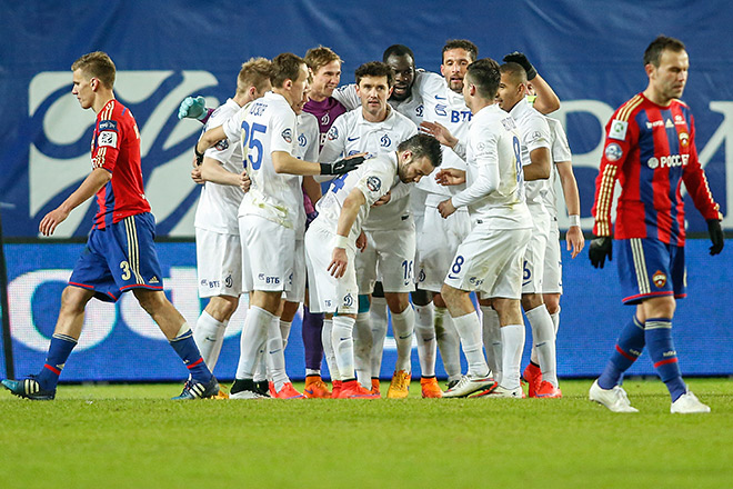 В 6 матчах с лидерами «Динамо» набрало 10 очков из 18 возможных