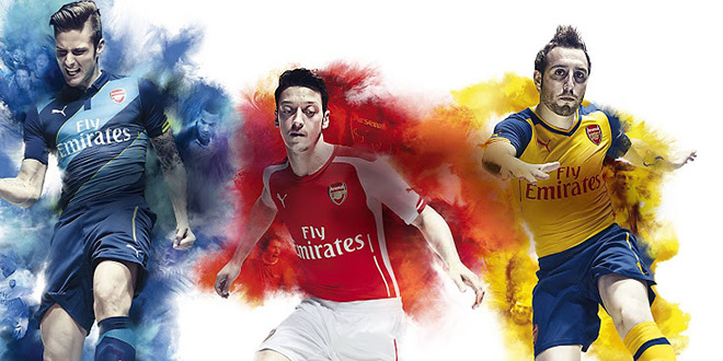 Презентация новой формы «Арсенала» от Puma