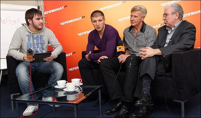 Константин Устьянцев, Дмитрий Пирог, Александр Загорский и Борис Скрипко
