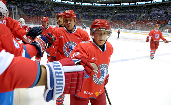 10 мая 2010 года. Сочи. Гала-матч Ночной хоккейной лиги