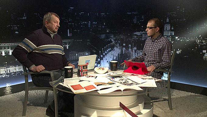 """Сергей Гимаев и Роман Чернявский в программе """"Трибуна"""""""